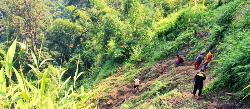 বান্দরবানের আমিয়াখুম ভ্রমণ
